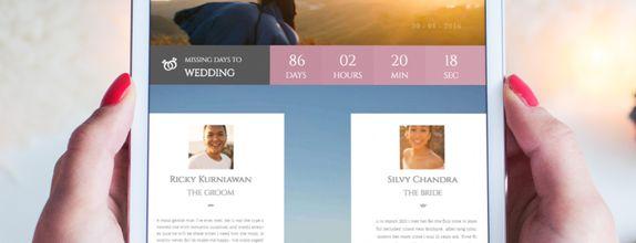 Bowbei Wedding Website Designer Paket Diamond