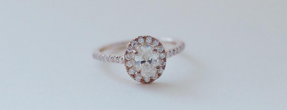 Halo with Side Diamond Ring