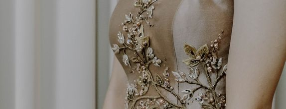 Handmade Embroidered Cheongsam