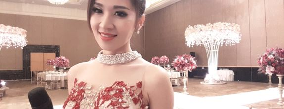 MC Vivien Lin ( 林香君 ) For 2021 Weekend Wedding Reception
