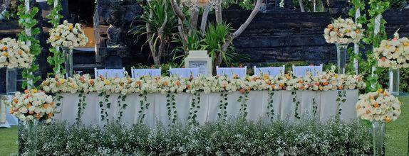 Sekar Jagat Bali - Bridal Table Dekorasi