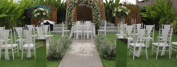 Online Wedding Decoration for Akad 10-20 pax