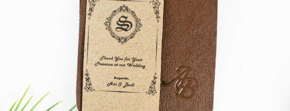 Wedding Souvenir Exclusive 4 Card
