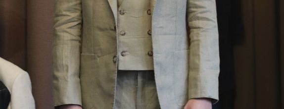 Linen Suits (Jacket + Trouser) Spence & Bryson Linen Fabric
