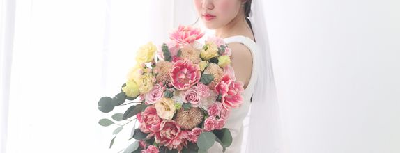 Intimacy Cascade Bouquet