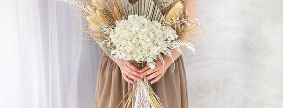 Preserved Hydrangea Bouquet