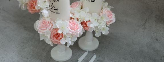 Unity Wedding Candle Set