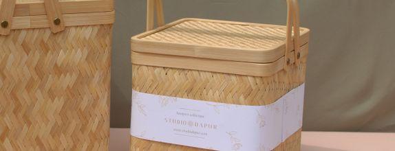 KEMALA BAMBOO BOX SMALL