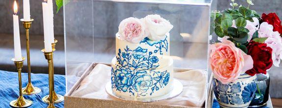 Lareia Cake & Co - Engagement Cake 2 Tier B