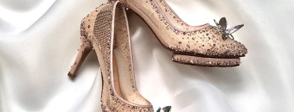 LISTINE - ROSEGOLD - 9cm - Wedding Shoes - Bride Shoes - Party Shoes
