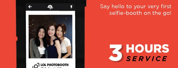 LOLGO (Selfie Mobile Photo booth) - 3 Hours Service