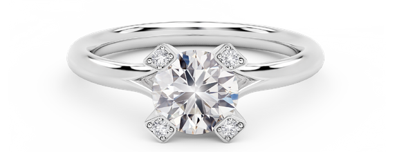 DP CORNERSTONES FOREVERMARK LADIES RING
