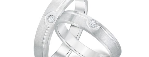 DP TIMELESS WEDDING RING (1 PAIR)