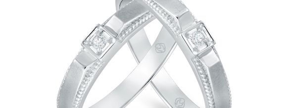 DP TIMELESS SPECIAL PRICE WEDDING RING COLLECTION (1 PAIR)