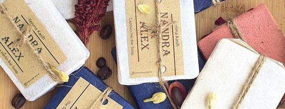 Colored Paper Package 800 pcs - 950 pcs: Artisan Bar Soap 45 grams