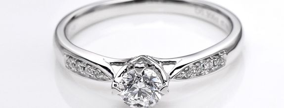 TIARIA Timeless Love Diamond Engagement Ring Cincin Tunangan Berlian