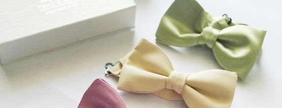Custom Made Bow Tie (solid colour)