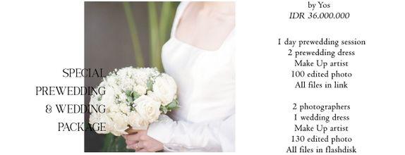 Prewedding & Wedding by Yos