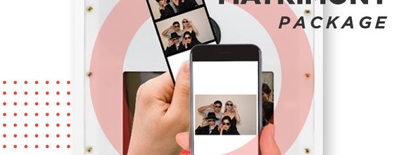 Intimate 2 hours Photo booth Package by LOL Photobooth