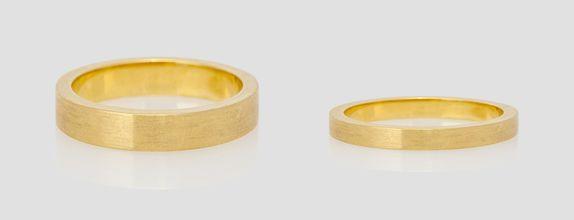 Promise Ring - 18K Gold