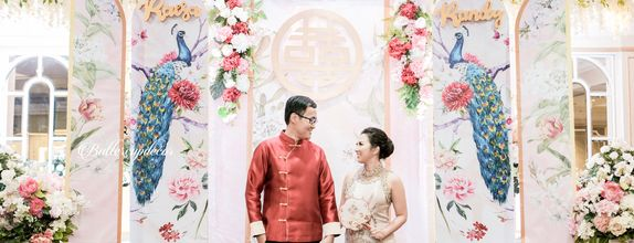 Simply Chinese Engagement Decor 3x4m