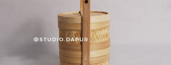 Keranjang Hampers Bambu Rantang (SEROJA BASKET)