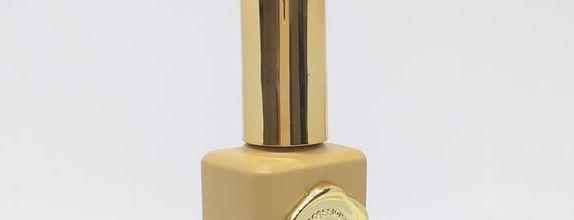 Kutek Nail Art Professional Gel Polish Show Me -Gold Glitter Rembrandt