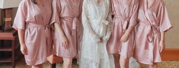 Upper East Bridesmaid - Luxury Bridesmaid Robe