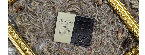 Souvenir Pernikahan Card Holder 3 slot