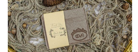 Souvenir Pernikahan Card Holder / Tempat Kartu