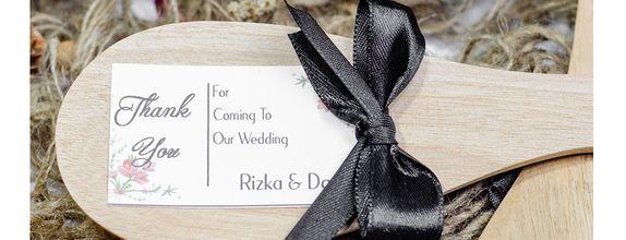Souvenir Pernikahan Centong Kayu Rustic