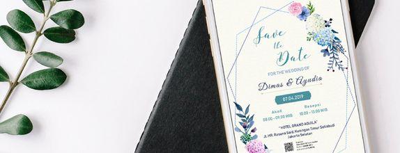 Electronic Invitation | Undangan Pernikahan Digital SI-001