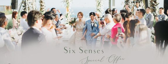 Six Senses x baliVIP Wedding - SILVER PACKAGE