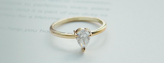 One-Stone Ring