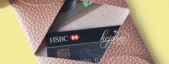 Dompet Kartu Lipat