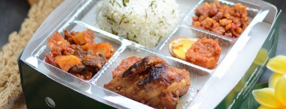 Paket Nasi Kotak Taliwang Bali