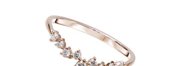 Siorai Paisley Ring 0218 234 Cincin Berlian Sz 4 - 15 ( Preorder )