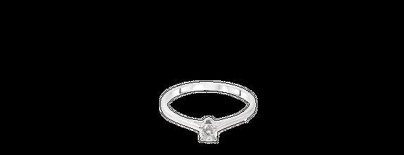 SIORAI Davina 12185160 Cincin Berlian Sz 4-15 (Pre Order)