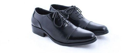 Salvare Shoes - Sepatu Wedding Pria Terlaris - Plan Toe Oxford