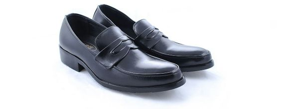 Salvare Shoes - Sepatu Wedding Pria - Loafers Warna Hitam - Slip On