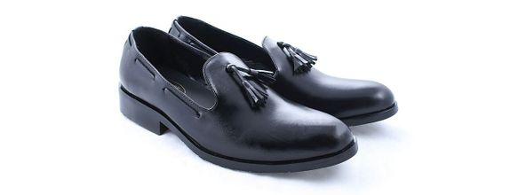 Salvare Shoes - Sepatu Wedding Pria - Sepatu Peninggi - Loafer Tassel