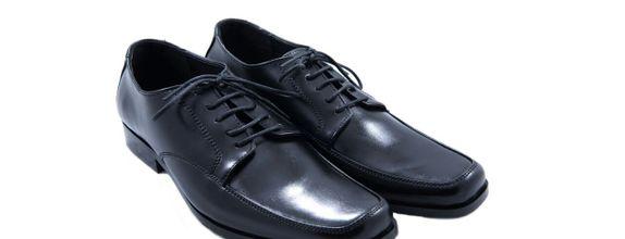 Salvare Shoes - Sepatu Wedding Pria - Sepatu Formal Hitam - Massimo