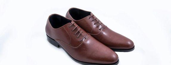 Salvare Shoes - Sepatu Pengantin Pria Terbaru Warna Coklat
