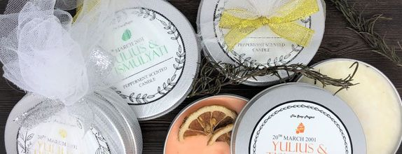 Tile Package 50 pcs - 150 pcs: Artisan Scented Candle 85 grams