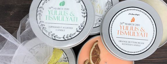 Tile Package 200 pcs - 350 pcs: Artisan Scented Candle 85 grams