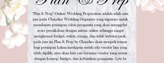 Plan and prep wedding online consultation