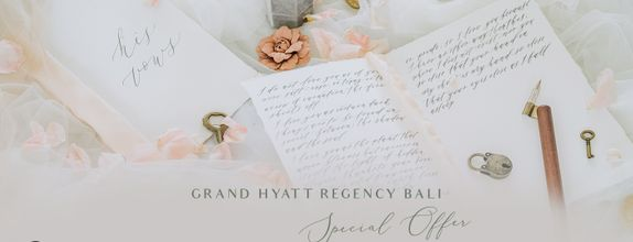 Hyatt Regency x baliVIP Wedding