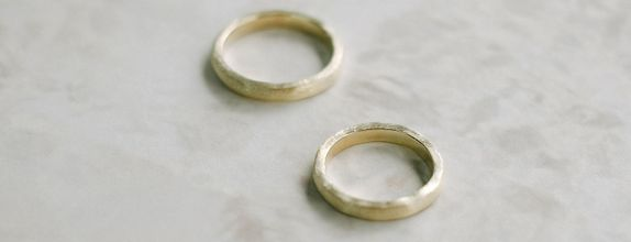 Wedding Ring [A Pair of Textured Wedding Ring]