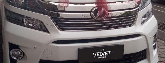 Velvet Car Rental - Vellfire 2016