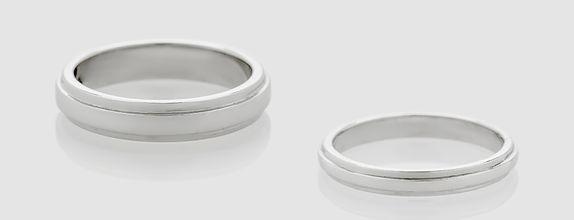 Union Ring - Platinum